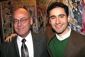 John Lloyd Young at Sardi's - Karl Young - John Lloyd Young