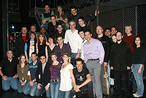 Photo Op - Jersey Boys does Actors' Fund benefit 2007 - full cast