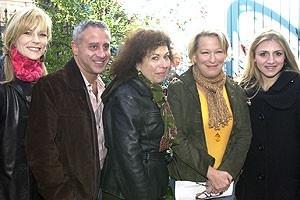 Photo Op - Wicked Day 2007 - Lisa Brescia - David Stone - Winnie Holzman - Bette Midler - Annaleigh Ashford