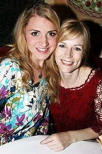 Photo op - Wicked 4th anniversary party - Annaleigh Ashford - Lisa Brescia
