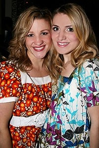 Photo op - Wicked 4th anniversary party - Katie Adams - Annaleigh Ashford