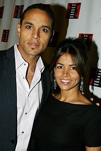 Photo Op - Cyrano opening - Daniel Sunjata - (girlfriend) Rosalba Sierra