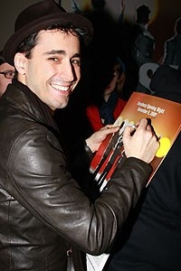 Photo Op - John Lloyd Young Leaves Jersey Boys -  John Lloyd Young (autographing)