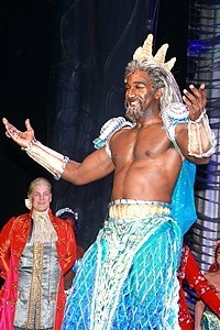 The Little Mermaid opening - cc - Norm Lewis