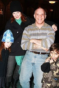 Julianne Moore Visits The Little Mermaid - Eddie Korbich