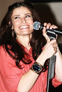 Idina Menzel at Virgin - Idina finale