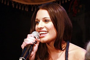 Lea Michele at Feinstein's - Lea Michele (performing)