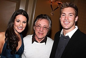 Lea Michele at Feinstein's - Lea Michele - Frankie Valli - Landon Beard