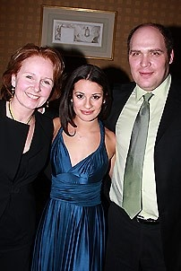 Lea Michele at Feinstein&#39;s - Lea Michele - Kate Burton - Glenn Fleshler