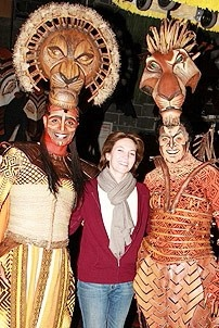 Diane Lane at Lion King - Diane Lane - Nathaniel Stampley - Derek Smith