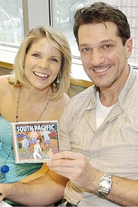 South Pacific CD Signing - Kelli O'Hara - Paulo Szot
