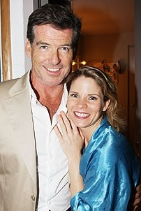 Brosnan at South Pacific - Kelli O'Hara - Pierce Brosnan