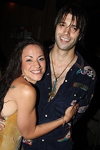 2008 Hair Opening - Caren Lyn Manuel - husband Jeremy