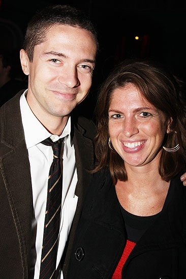 Photo of Topher Grace & his  Sister  Jennifer Grace
