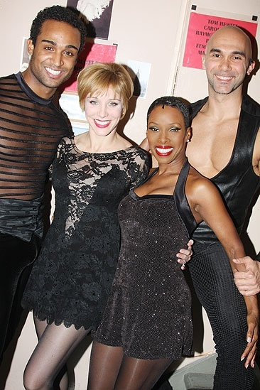 Charlotte d'Amboise and Tom Hewitt in Chicago – Joe Aaron Reid - Charlotte d'Amboise - Brenda Braxton - Shawn Emamjomeh