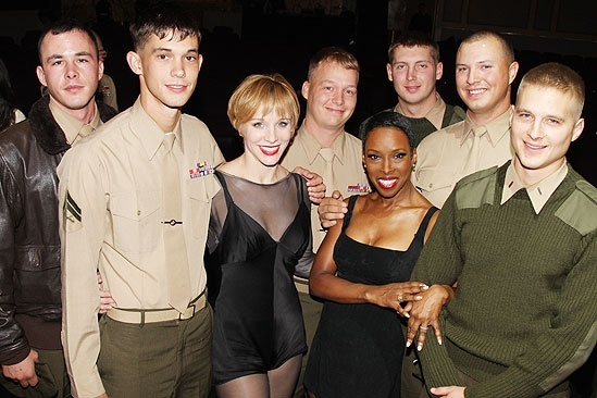 Chicago Celebrates Marines Birthday – Charlotte d'Amboise – Brenda Braxton