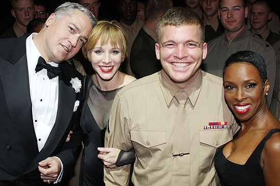Chicago Celebrates Marines Birthday – Charlotte d'Amboise – Brenda Braxton – Tom Hewitt