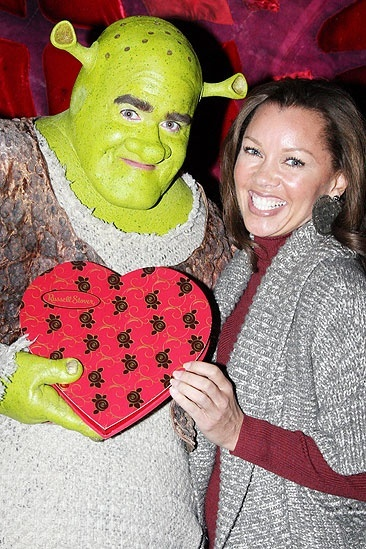 Vanessa Williams at Shrek - Vanessa Williams – Brian d'Arcy James