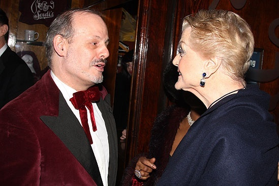 Blithe Spirit Opening Night – Jeffrey Richards – Angela Lansbury