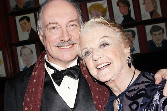 Blithe Spirit Opening Night – Simon Jones – Angela Lansbury