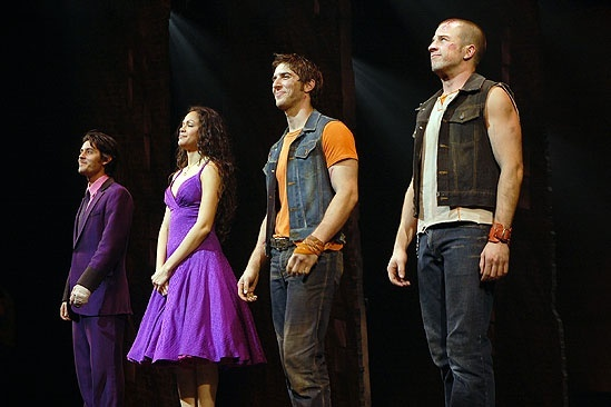 West Side Story opening – cc –George Akram - Karen Olivo – Cody Green – Curtis Holbrook