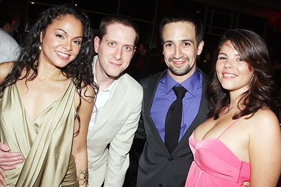 West Side Story opening  Karen Olivo  Matt Caplan  Lin-Manuel Miranda  Vanessa Nadal