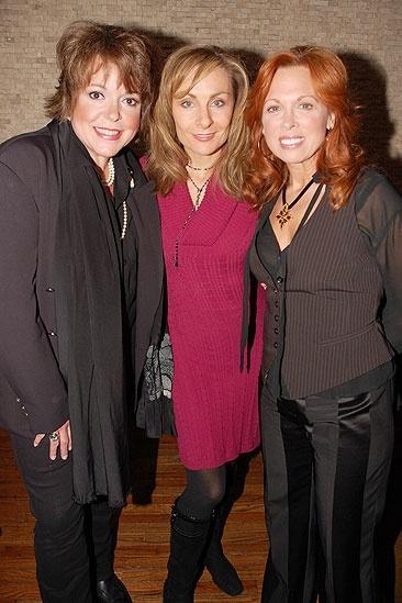 Mamma Mia! portrait at Tony's Di Napoli – Carolee Carmello – Gina Ferrall – Judy McLane