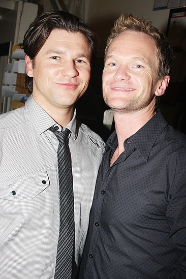 Random celebs at ROA  David Burtka  Neil Patrick Harris
