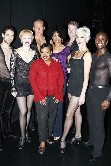 Michelle Williams and Chandra Wilson at Chicago - Michael Cusumano  Charlotte dAmboise - Jason Patrick Sands  Chandra Wilson  Michelle Williams - Brian O&#39;Brien Amra-Faye Wright  James T. Lane