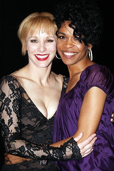 Michelle Williams and Chandra Wilson at Chicago – Charlotte d'Amboise – Michelle Williams