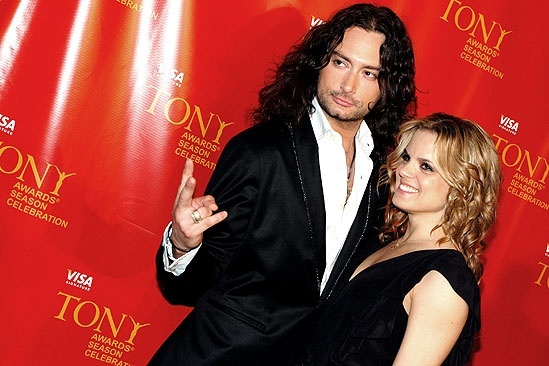Visa Signature Tony Preview Concert 2009  Constantine Maroulis  Amy Spanger