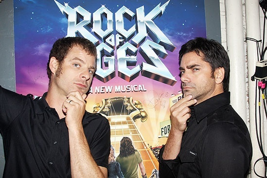 John Stamos at Rock of Ages - Matt Stone - John Stamos
