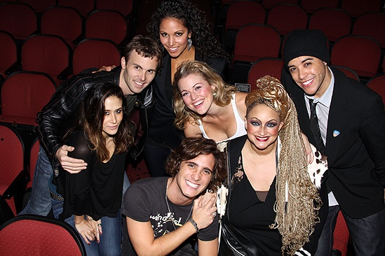 Diego Boneta at <i>Rock of Ages</i> - TKTK