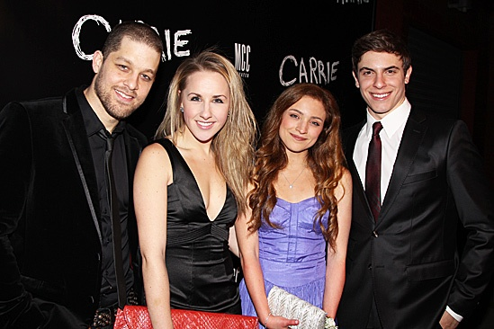 Carrie - Ben Thompson, Jeanna De Waal, Christy Altomare and Derek Klena