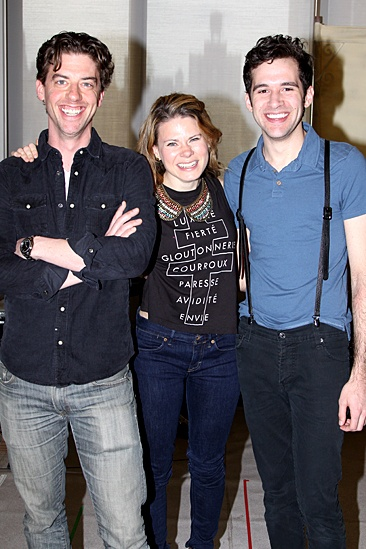 Peter and the Starcatcher Meet and Greet – Christian Borle - Celia Keenan-Bolger – Adam Chanler-Berat