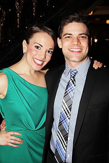 Newsies  Opening Night  Jeremy Jordan  Kara Lindsay