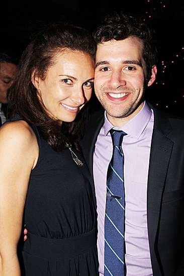 Peter and the Starcatcher Opening Night – Laura Benanti - Adam Chanler-Berat
