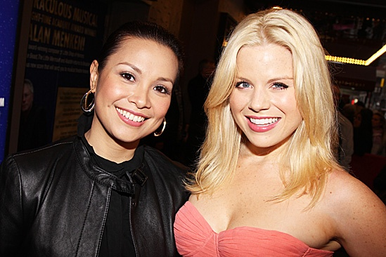Leap of Faith Opening Night – Lea Salonga – Megan Hilty