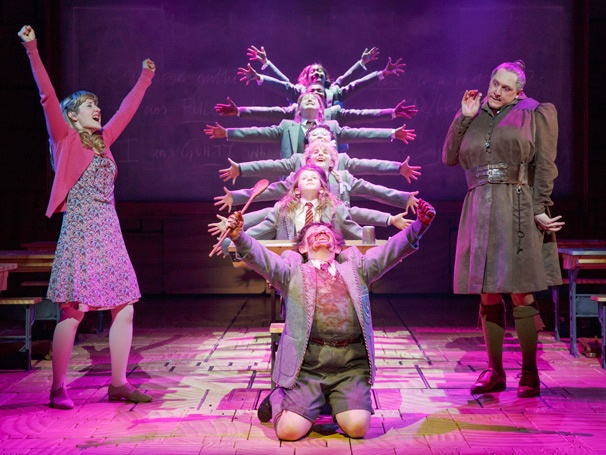 Show Photos - Matilda - Lauren Ward - Bertie Carvel