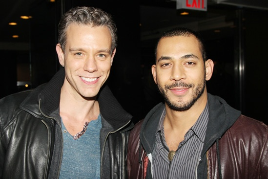 'Motown' Opening Night — Adam Pascal — Justin Johnston