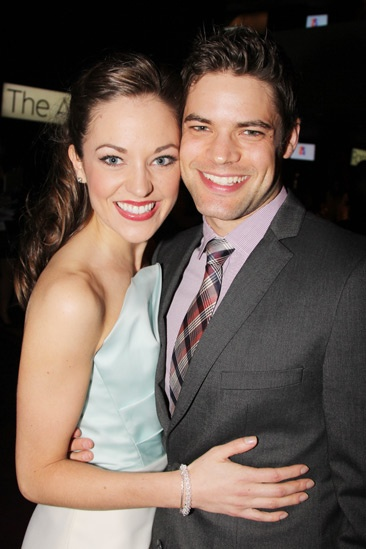 2013 Audience Choice Awards- Laura Osnes- Jeremy Jordan