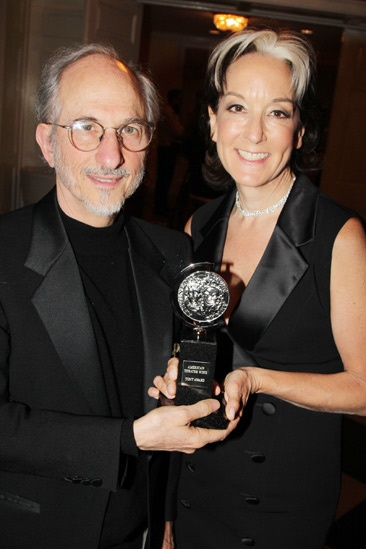 2013 Tony Awards Winner's Circle – Jules Fisher – Peggy Eisenhauer