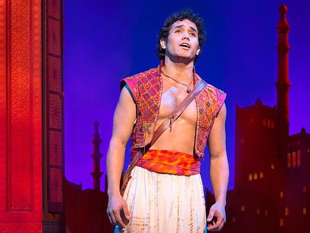 <I>Aladdin</I>: Show Photos - Adam Jacobs