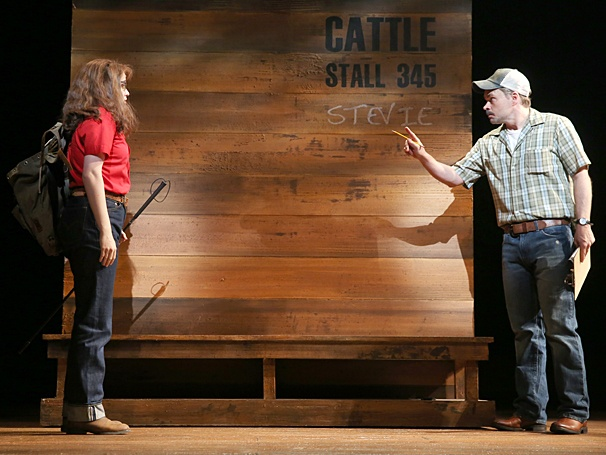 The Bridges of Madison County - Show Photos - Caitlin Kinnunen - Hunter Foster