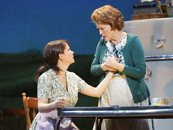 The Bridges of Madison County - Show Photos - Kelli O'Hara - Cass Morgan