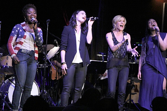 If/Then - concert - OP - LaChanze - Idina Menzel - Jenn Colella - Tamika Lawrence