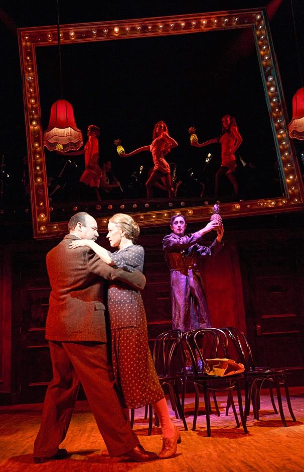 Cabaret - SHow Photos - 11/14 - Danny Burstein - Linda Emond - Alan Cumming
