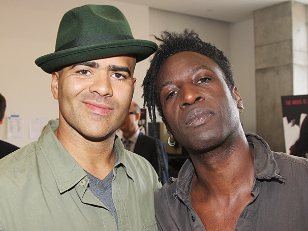 Holler If Ya Hear Me – Meet and Greet – OP – 5/14 - Christopher Jackson - Saul Williams