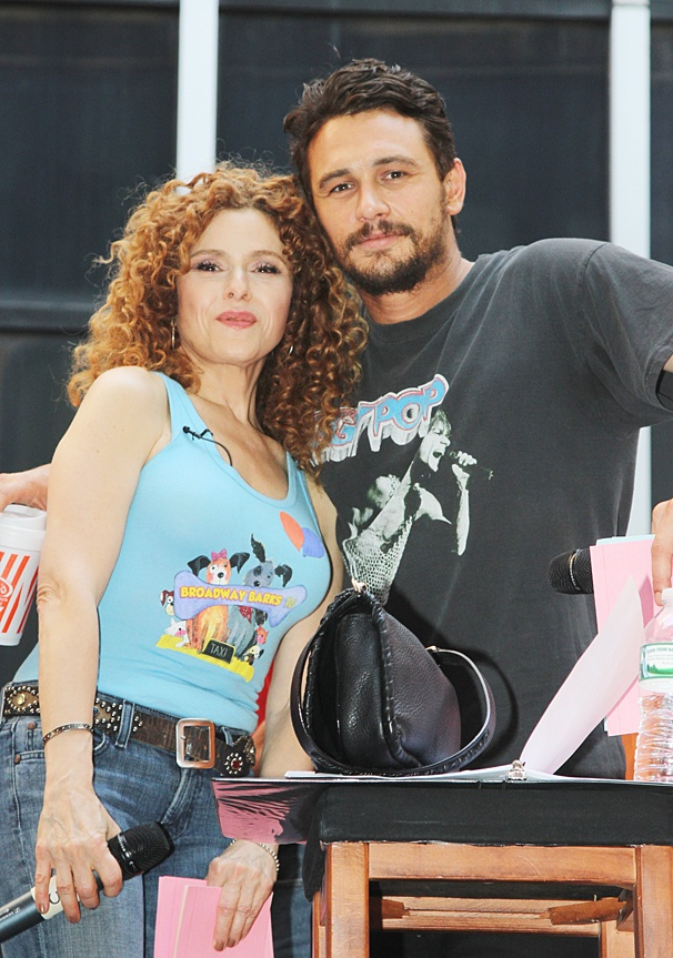 Broadway Barks - 2014 - OP - 7/14 - Bernadette Peters - James Franco