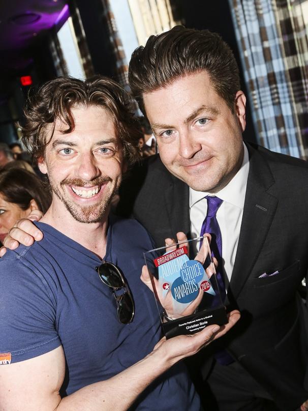 Broadway.com - Audience Choice Awards - 5/15 - Christian Borle - Paul Wontorek